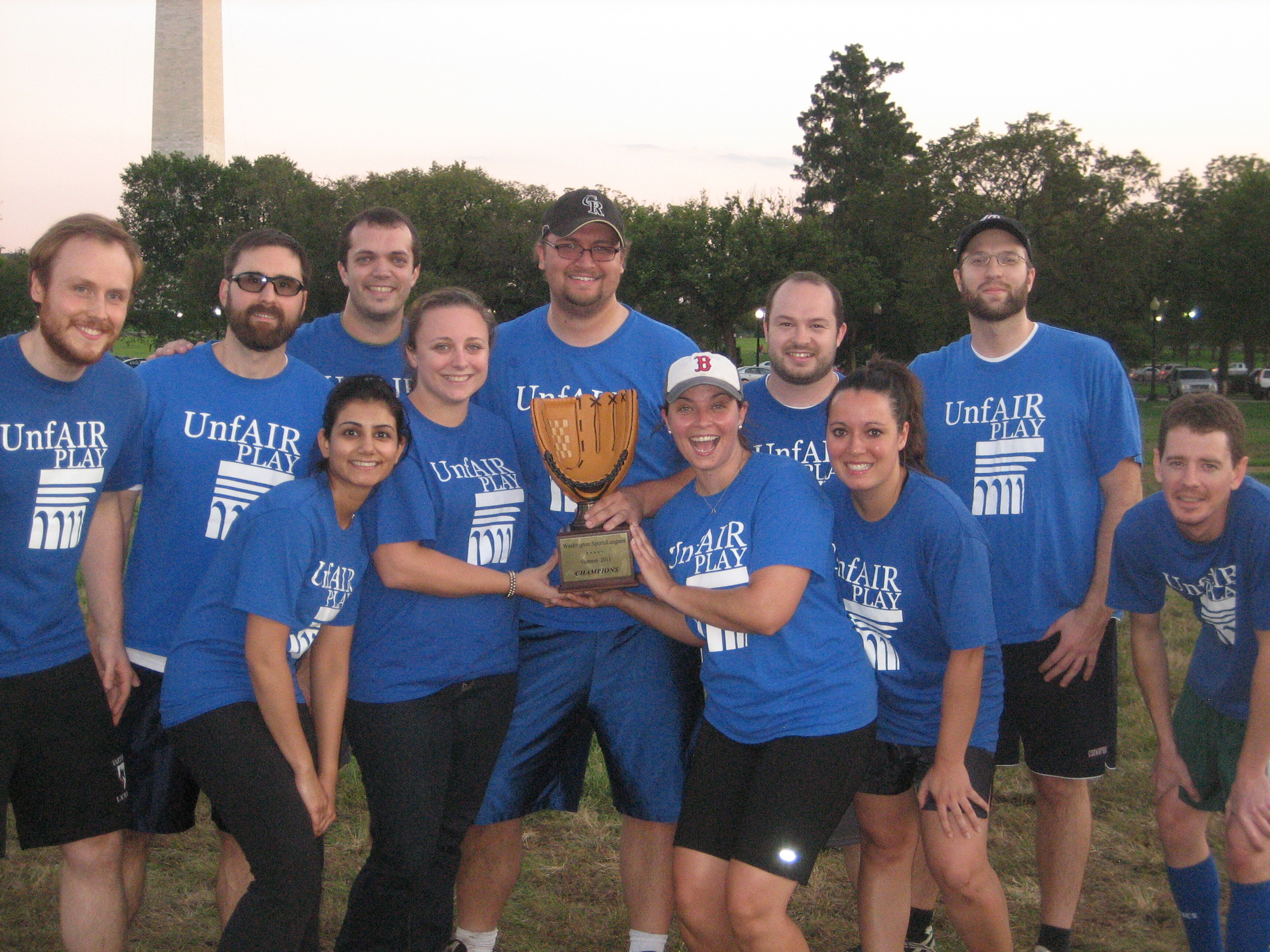 Unfair Play Summer 2011 Rec Champions
